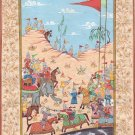 Persian Empire Miniature Art Handmade Indo Islamic Middle Eastern Folk Painting