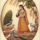 Kakubha Ragini Miniature Art Indian Ethnic Handmade Ragamala Rajasthani Painting