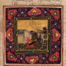 Persian Illuminated Manuscript Art Handmade Muslim Islamic Miniature Painting