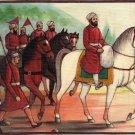 Sikh Guru Angad Dev Painting Handmade Sikhism Second Guru Religious Ethnic Art