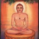 Tirthankara Adinath Jain Painting Handmade Rishabha Dev Religious Canvas Oil Art