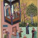 Persian Miniature Painting Mir Ali Shir Nawai Shaykh Zadeh Rare Islamic Artwork