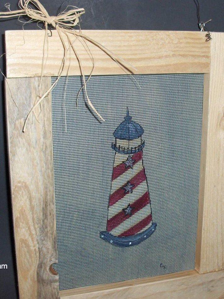 Lighthouse Americana Style