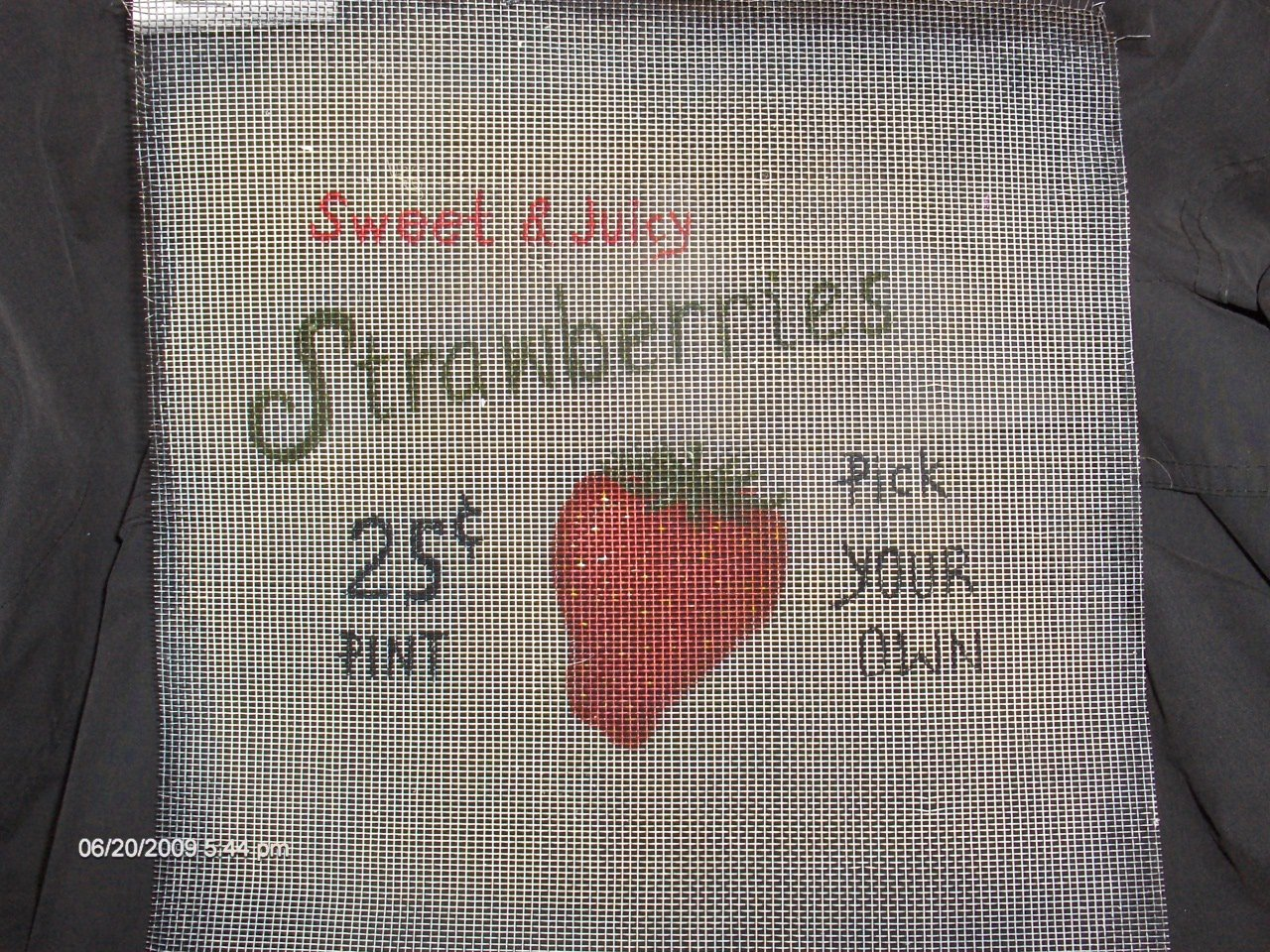 Sweet & Juicy Strawberries