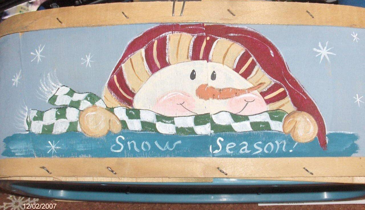 Snow Season Basket