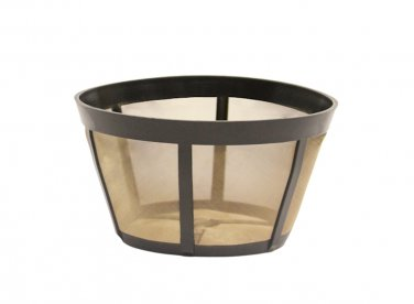 GoldTone TM Permanent Reusable Basket Coffee Filter, Fits BUNN* Coffee Makers