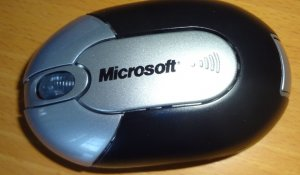 Microsoft Rechargeable Wireless Optical Mouse
