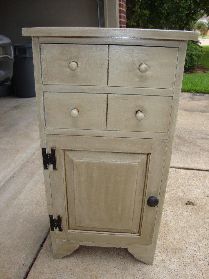 Distressed Night Stand