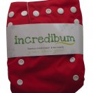 incredibum One Size Bamboo Cloth Diaper - Firecracker