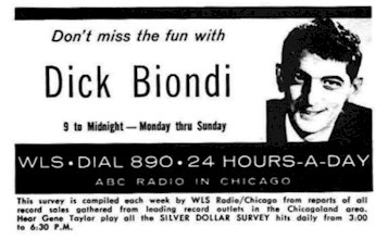WBBM  Chicago Dick Biondi  July 13, 1983  1 CD