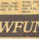 WFUN Florida Final Hours  January 11, 1976  2 CDs