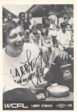 WCFL  Chicago    Larry O Brien  April 21, 1971    1 CD