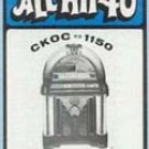 CKOC  Ronald J. Morey  March 1, 1972  1 CD