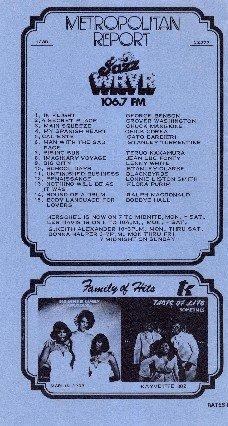 WNJR  &  WRVR   April 15, 1977  R&B   1 CD