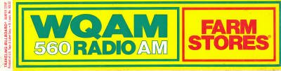 WQAM Florida  Tom Daily   July 29, 1966      1 CD