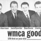 WMCA Chuck Browning 1/3/69  &   Dan Daniel 4/22/63  1 CD