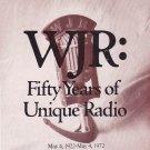 WJR 50 Years of Unique Radio  1922-1972  1 CD