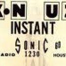 KNUZ  Paul King  8/8/70 Houston, Texas   1 CD