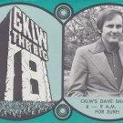 CKLW Dave Shafer  11-13-72  1 CD
