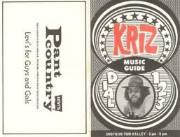 KRIZ  Chris Edwards  5/24/78-last show  1 CD