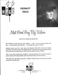 WIOD  Big Wilson First Day  8/1/75  1 CD