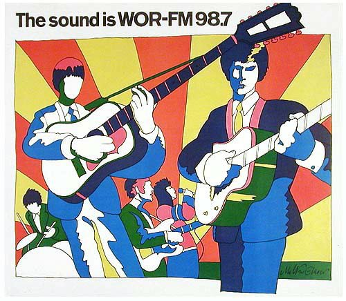 WOR-FM  Rick Shaw  December 1971   1 CD