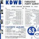 KDWB-AM Kelly 8-26-65  1 CD