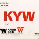 KYW Jim Runyan 6-65 unscoped WKYC Charles Dan 1968 scoped  1 CD