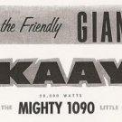 KAAY Ken Knight & Mike McCormick 6/5/68  1 CD