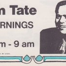 WKNR Jim Tate  9/9/70 &  8/21/70 1 CD