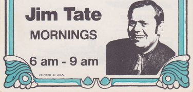 WKNR  Jim Tate 8/21/1970   1 CD