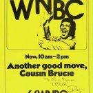 WNBC Bruce Morrow 1st show 8/19/74  1 CD