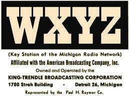 WXYZ David Newman History of WXYZ Radio 10/10/75 2 CDs