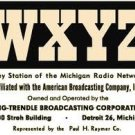 WXYZ David Newman History of WXYZ Radio 10/10/75   Detroit 2 CDs