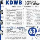KDWB True Don Bleu  10/68  1 CD