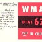 WMAQ  Joel Sebastian  5/28/72  1 CD