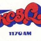 KCBQ   B. Bailey Brown  11/9/68  1 CD