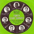 KILT Steve Lundy 9/3/70 &  KINT  Blaine 12/7/71  1 CD