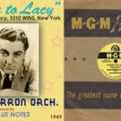 WINS  Jack Lacy July 9, 1962       1 CD