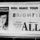 WALL-WALL-Land's Howard Hoffman March 1975  1 CD