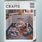 Fashion Doll Furniture Pattern Sofa Easy Chair BARBIE McCall's 8825 UNCUT