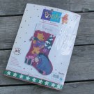 Pooh Felt Applique Christmas Stocking Kit NIP 1999 Bucilla