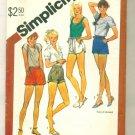 Hot Pants Shorts Vintage Sewing Pattern Size 8 Simplicity 5511 UNCUT
