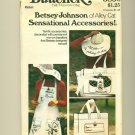 Vintage 70s Betsey Johnson Mod Sewing Pattern Size M UNCUT Accessories Butterick 3850
