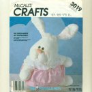 Vintage Rabbit Puffalump Fisher-Price Sewing Pattern UNCUT McCalls 3019