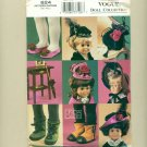 "Vogue 18"" Doll Accessories Sewing Pattern UNCUT 624"