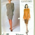 Vogue Ungaro Paris Original Jacket Skirt Pants Sewing Pattern 1996 Size 14-16-18 UNCUT