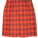 Women's Amanda Smith Skirt Size 6 red black