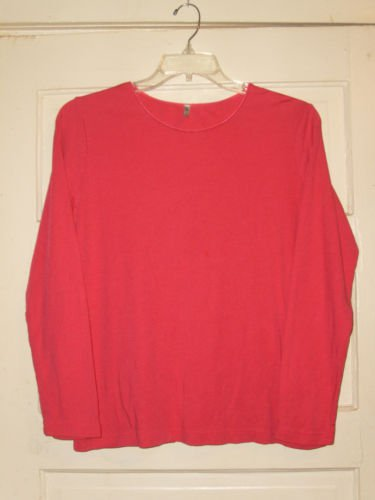 Women's White Stag Knit Top Size 16/18