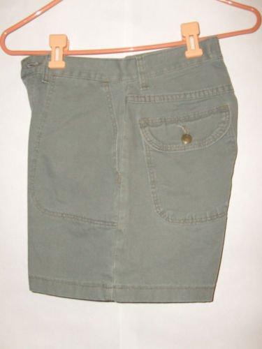 Wrangler for women Khaki green shorts size 6